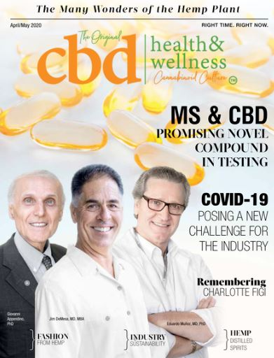 CBDIA Board Member Jim DeMesa, MD, MBA Featured in Latest Issue of CBD Health & Wellness Magazine